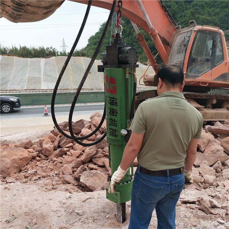 专业液压岩石劈裂机厂商