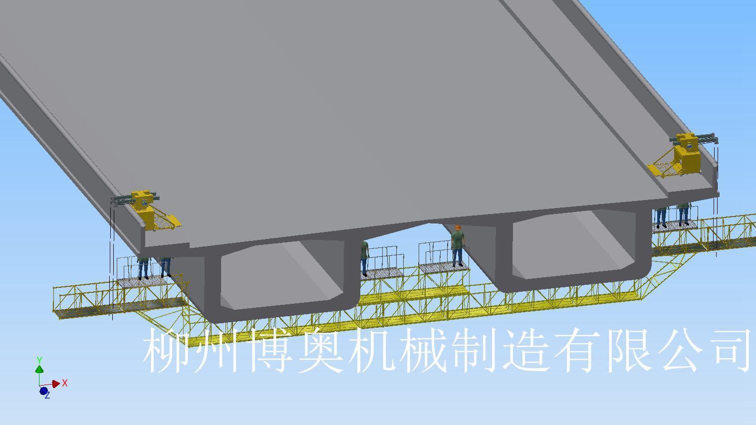 滁州桥梁检测设备桥梁检查车批发