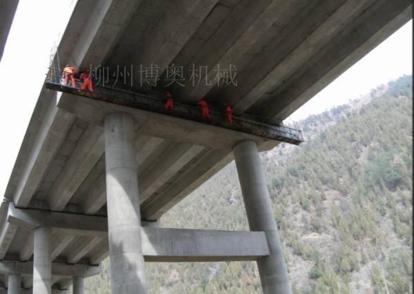 桥梁检测设备桥梁检查车制作