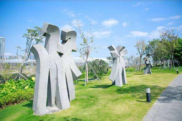 三亚景区雕塑