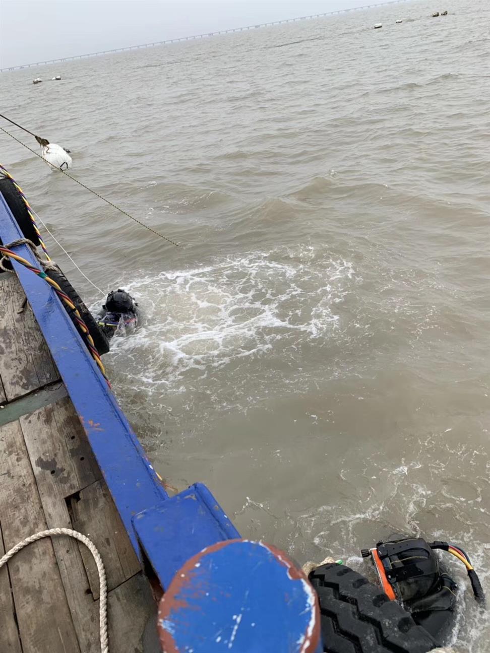 泰州潜水员打捞队