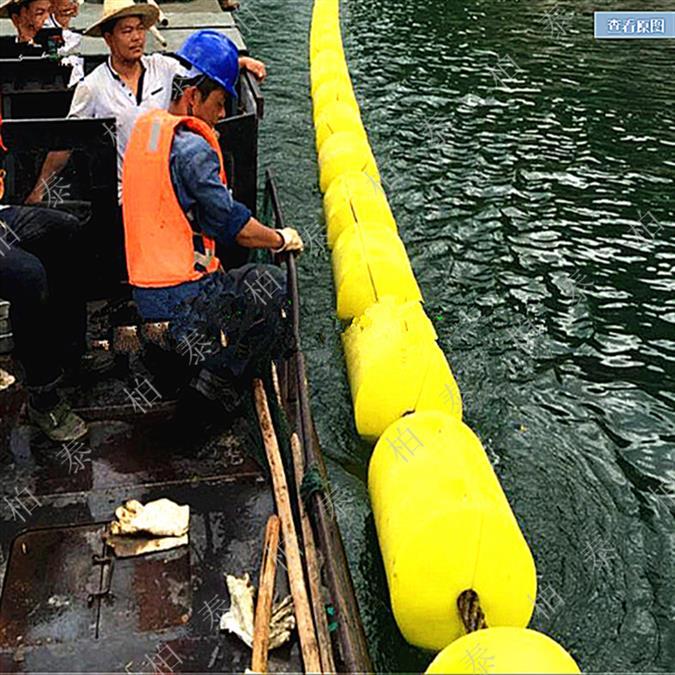 苏州小型河道拦污浮筒出售