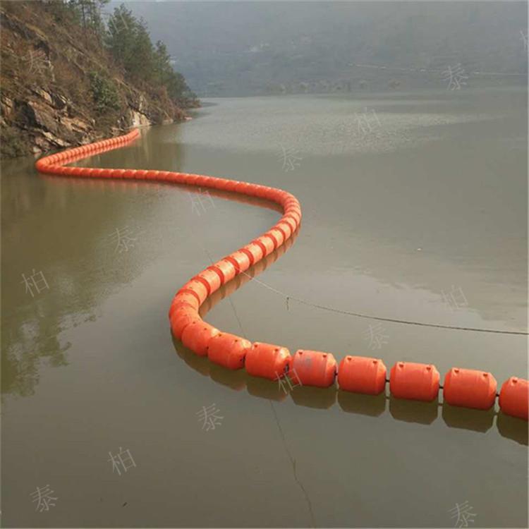 南昌水电站拦污浮排