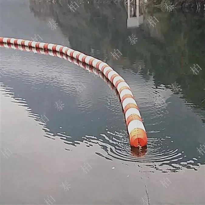 厦门水电站拦污浮排
