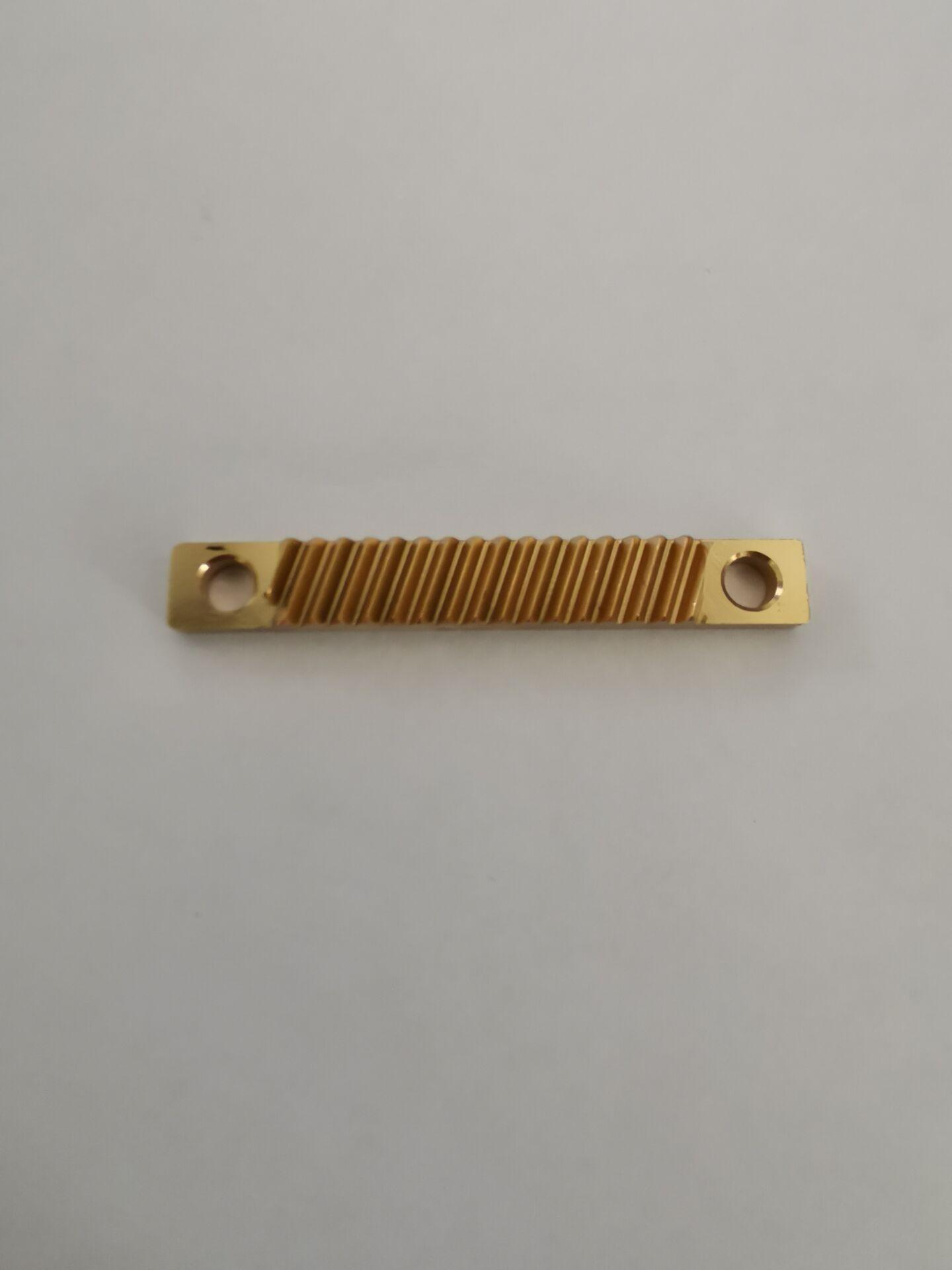 上海显微镜小模数黄铜滑台齿条定制