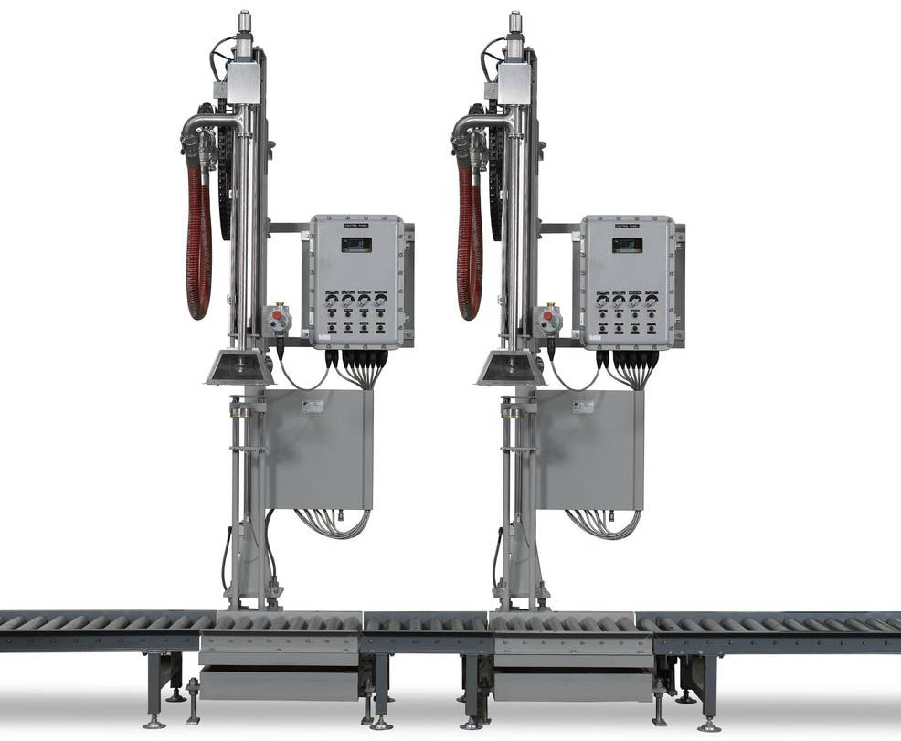 化工溶剂液体自动灌装机出售