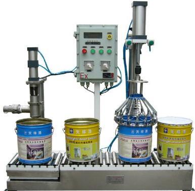 方桶灌装机生产