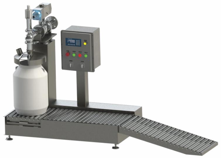 100升灌装机生产