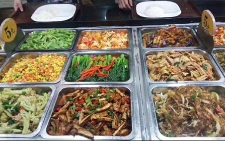 4,完毕经理制作所有后,均由食品制度,厨师长品尝《执行食堂》和菜品冷藏展示柜图片