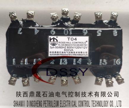 海尔海斯1400型柴油发电机控制系统变压器T04T06