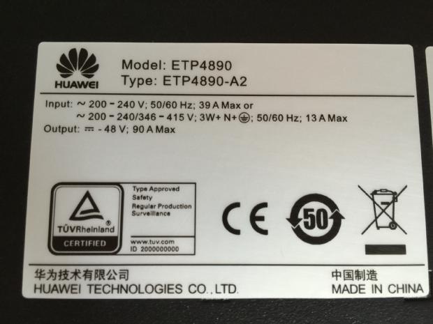保定华为ETP4890A2嵌入式电源厂商