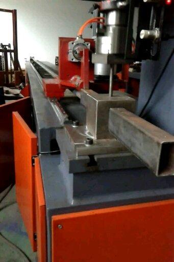 九江全自动数控液压金属管材冲孔机厂