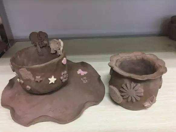 陶泥制作花瓶步骤