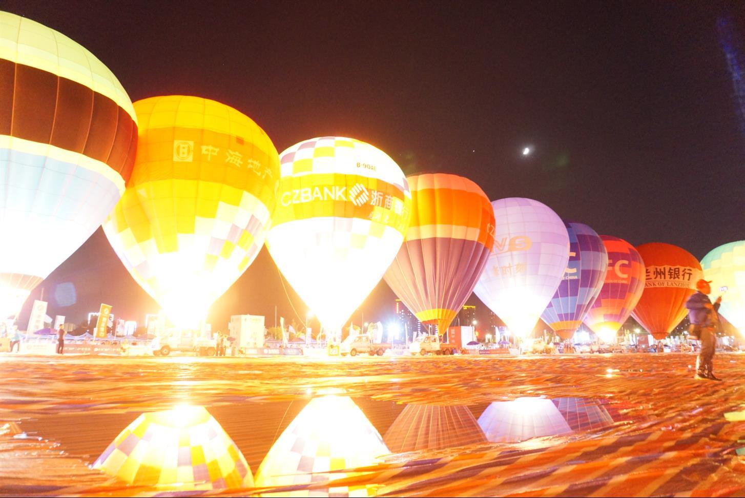 吐鲁番热气球项目