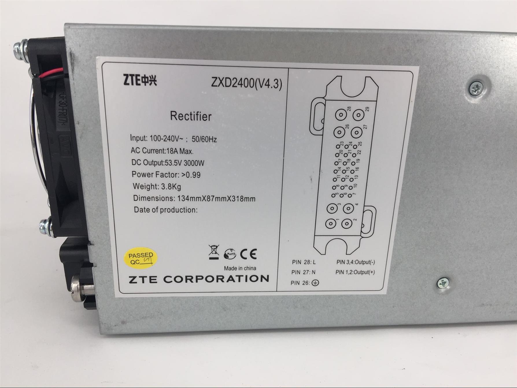常德中兴ZXD2400电源模块定做