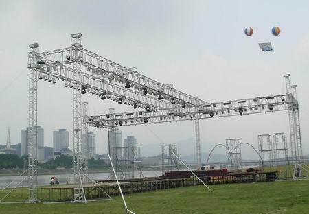 上海徐汇篷房桁架音响租赁