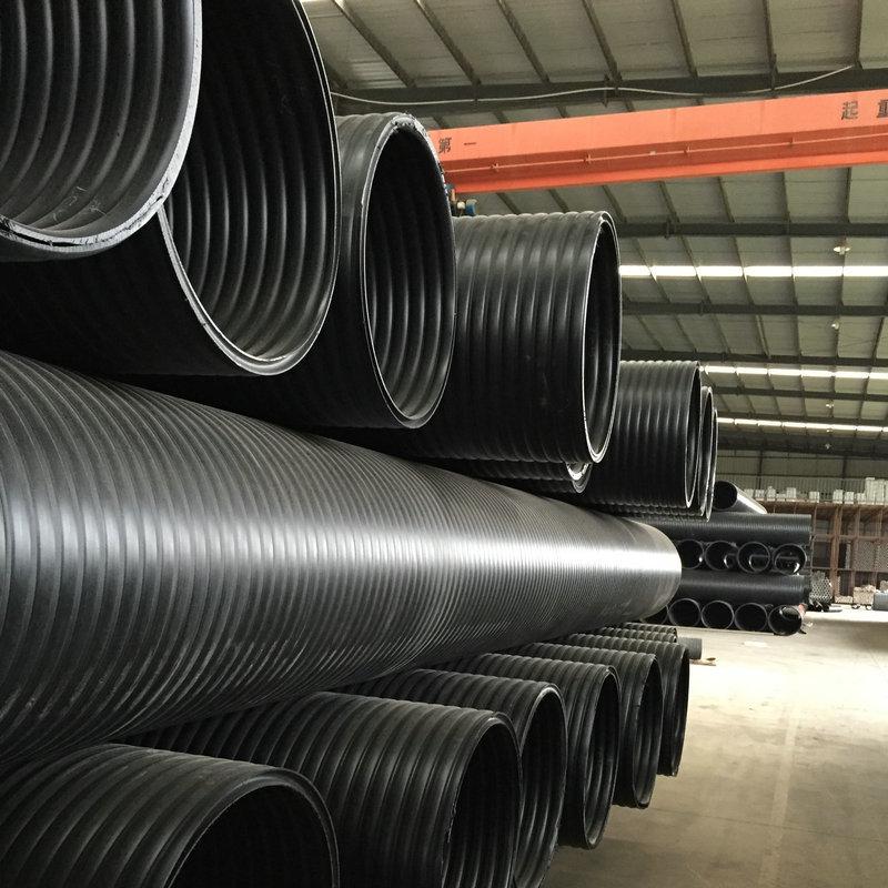 南京聚乙烯HDPE双壁缠绕管