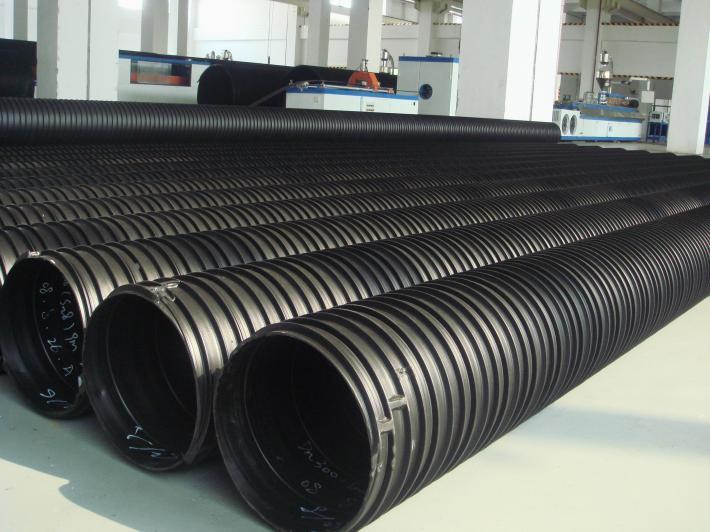 上海HDPE塑钢缠绕排水管价格