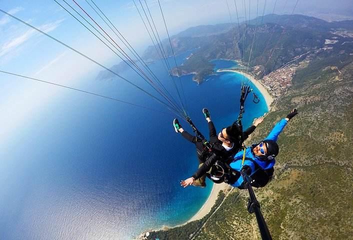 嘉兴滑翔伞极限运动