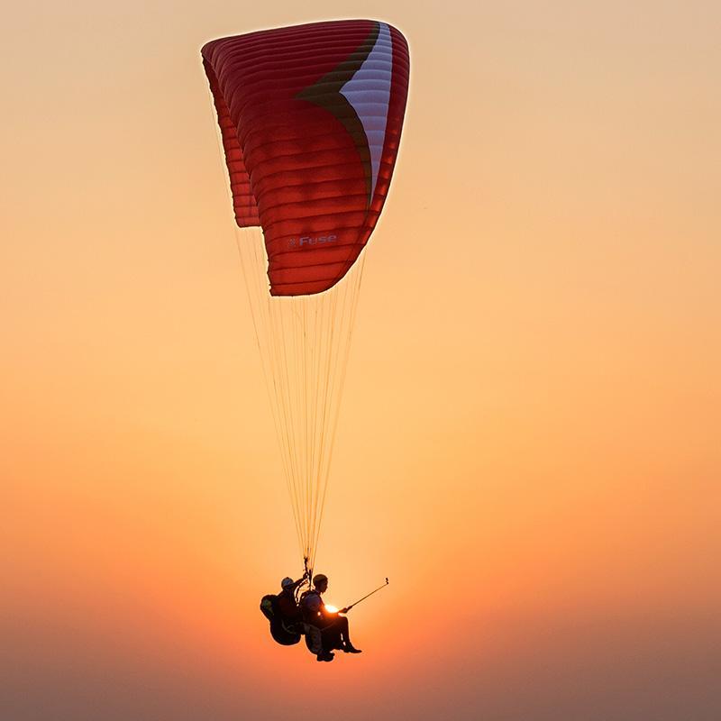 惠州滑翔伞带飞