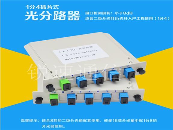 插片式盒式光分路器规格