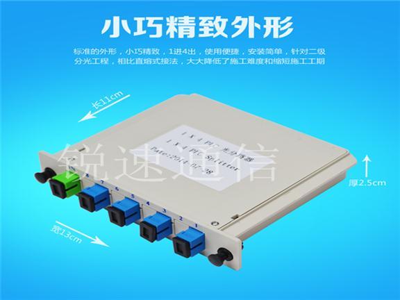 洛阳插片式盒式光分路器