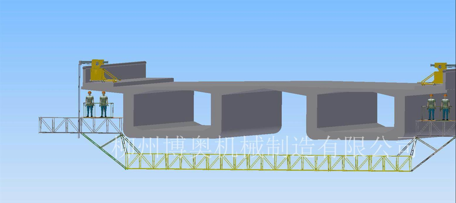 轻便的桥梁检修车定制