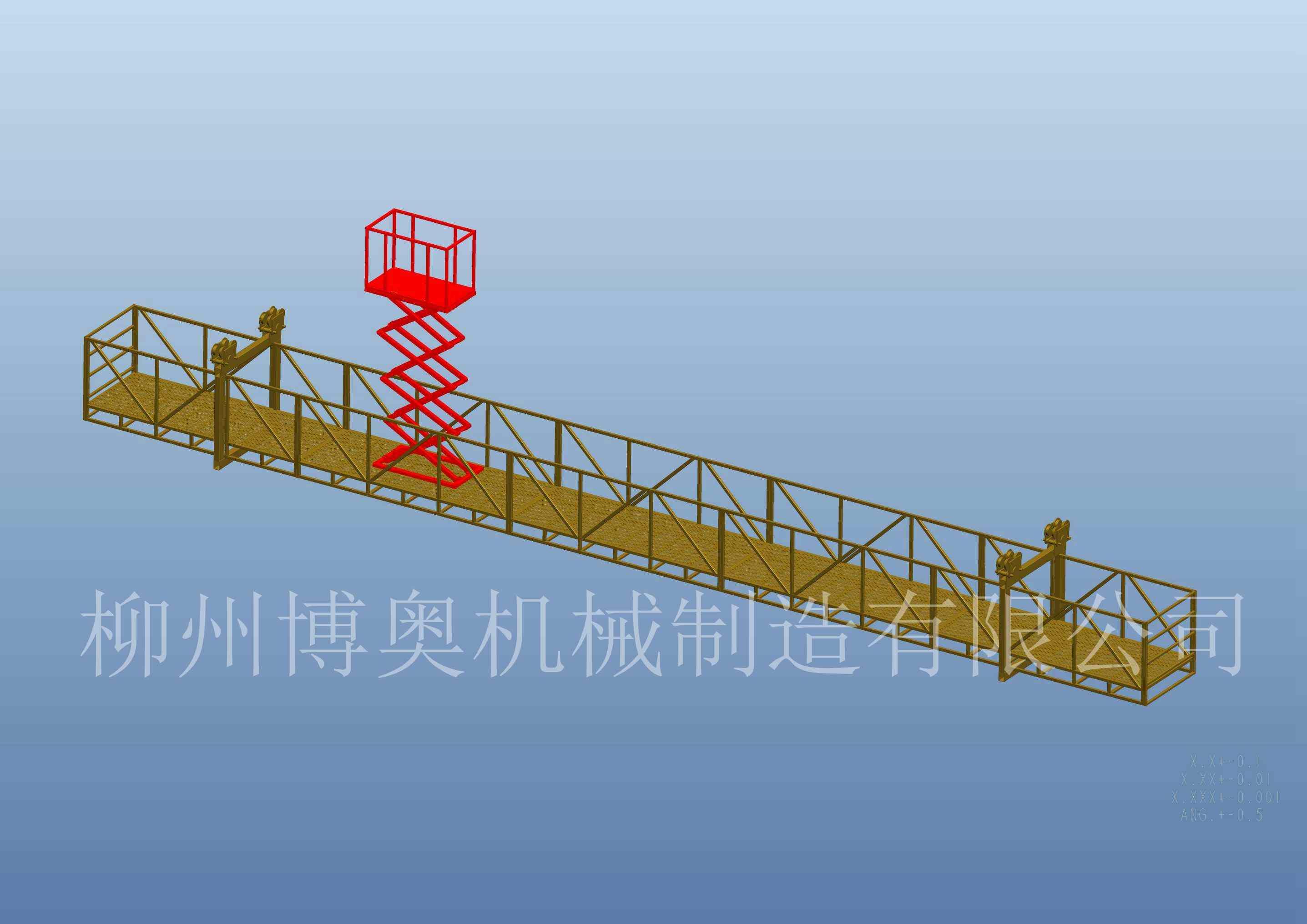 广州桁架桥检车施工视频