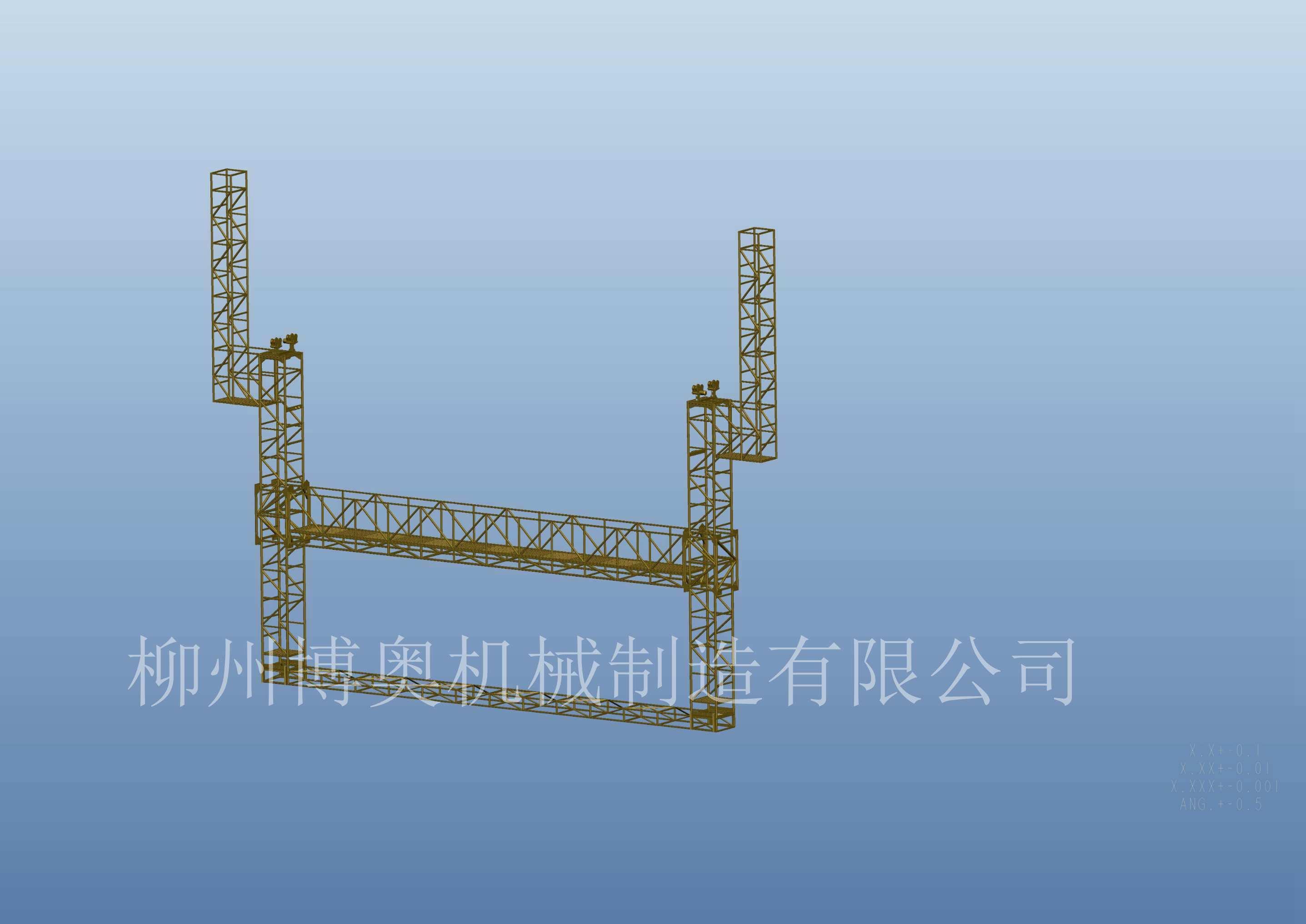 廊坊轻便的桥梁检修车厂