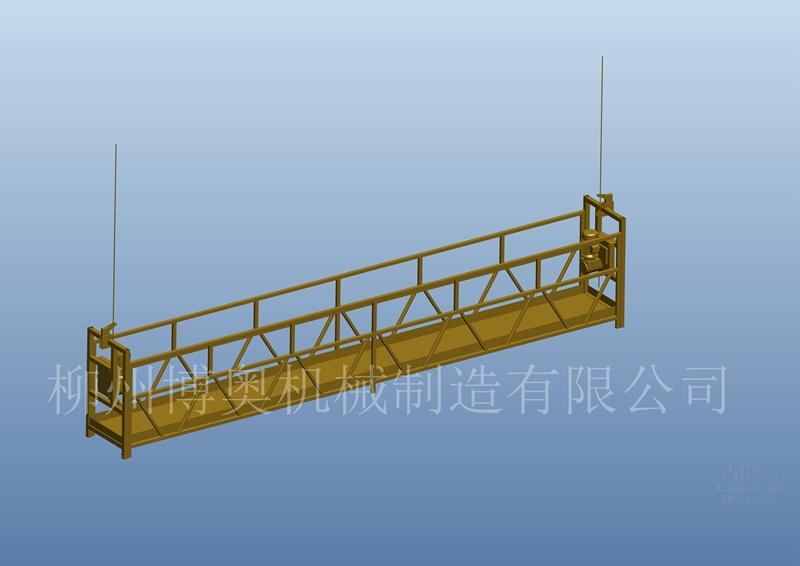 多功能桥底检查车施工图片