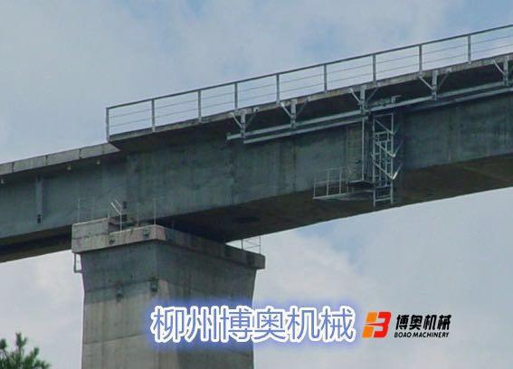 铁路桥梁吊篮图