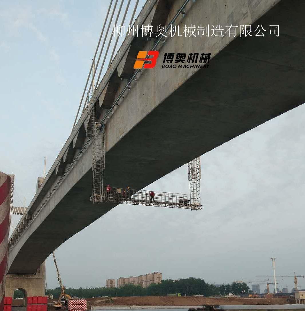 合肥附近的桥梁检修车