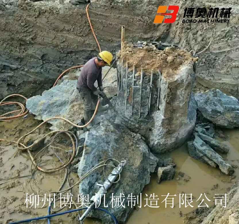 广州水下岩石破裂机