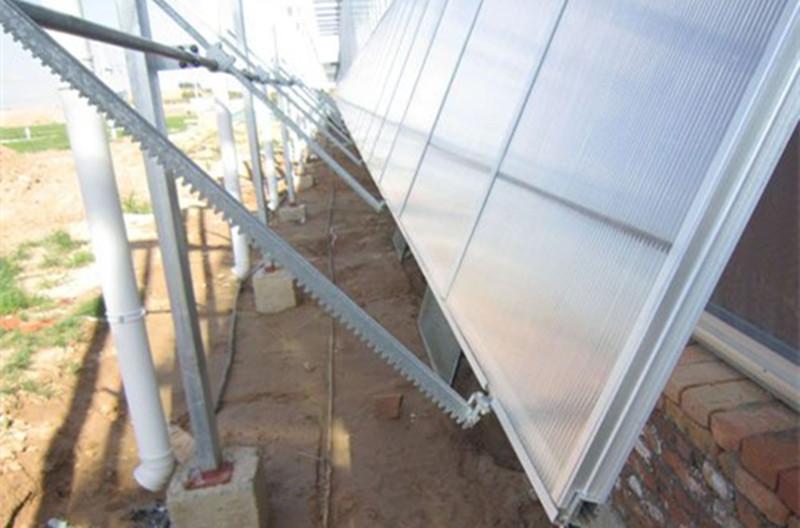 佛山直销温室大棚开窗系统费用 温室开窗 现货供应