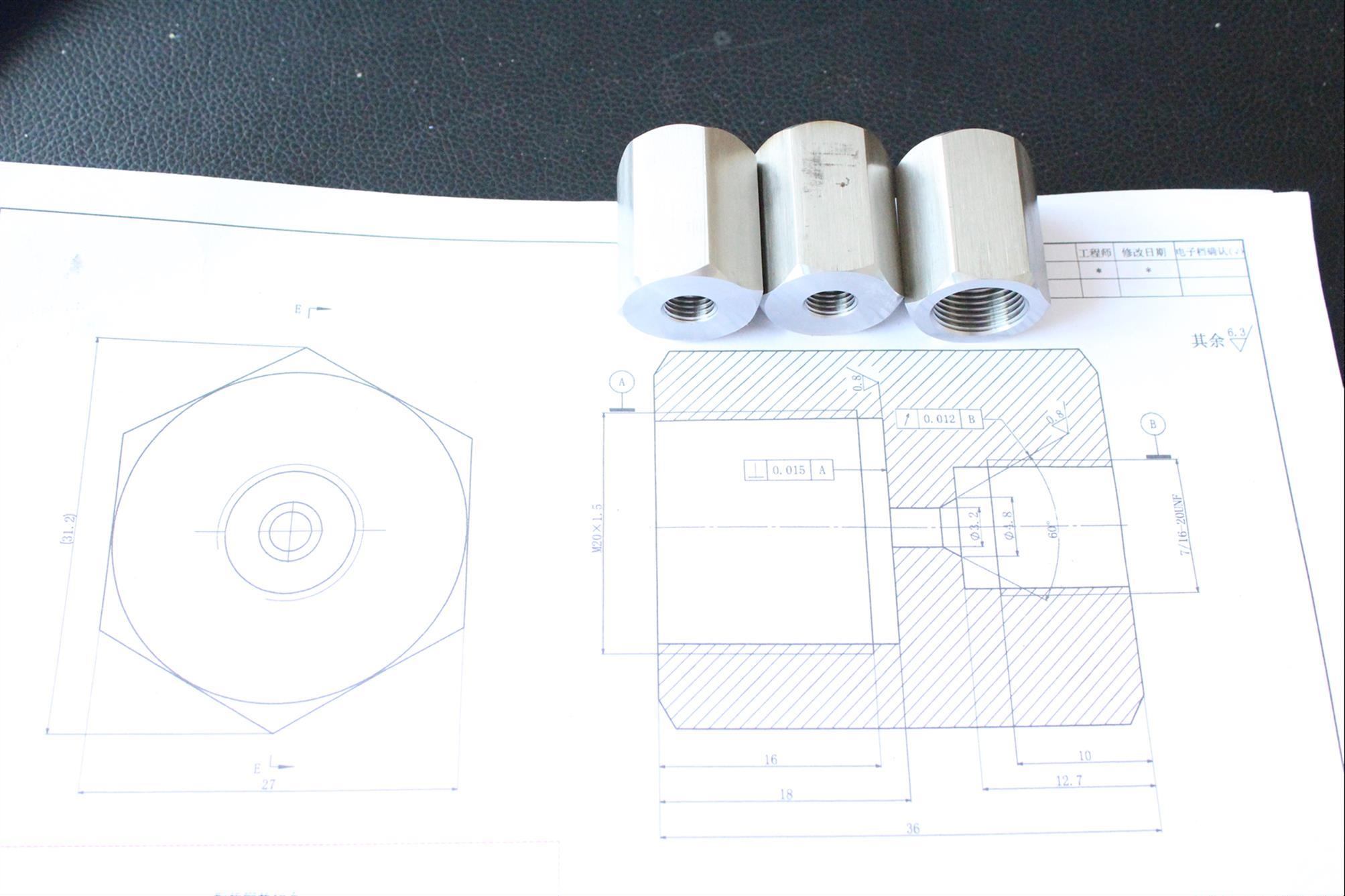 石龙仔非标定制内外螺纹转换接头厂