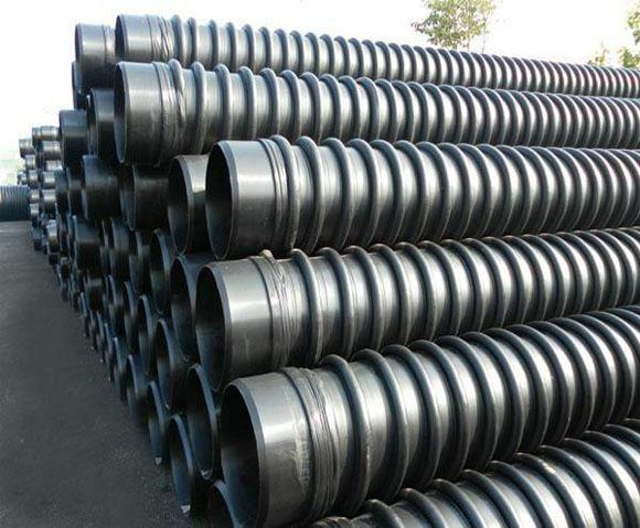 上海HDPE增强缠绕结构壁管B型管