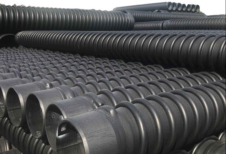 无锡高密度聚乙烯HDPE缠绕结构壁管