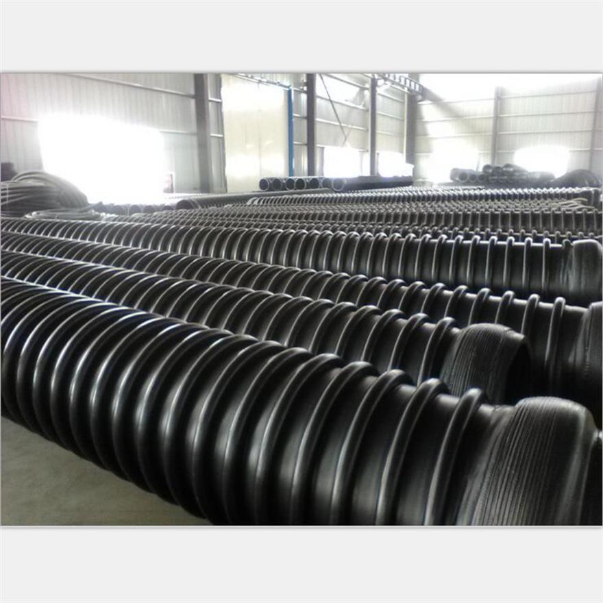 石家庄HDPE缠绕结构壁管A型管