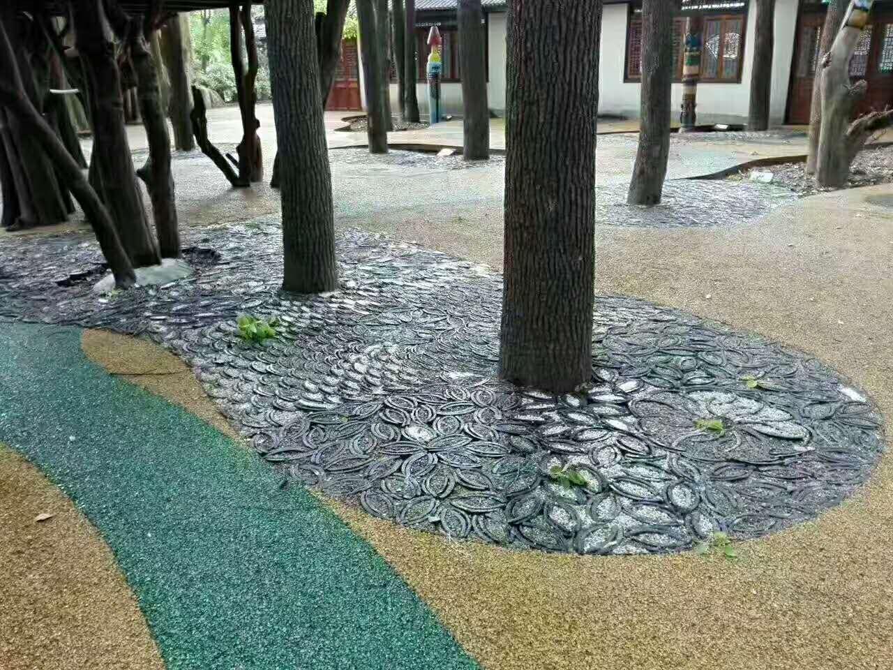 吉林公园透水石子粘接胶定做