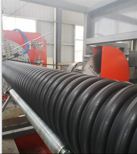 郑州内肋增强聚乙烯PE螺旋波纹管价格