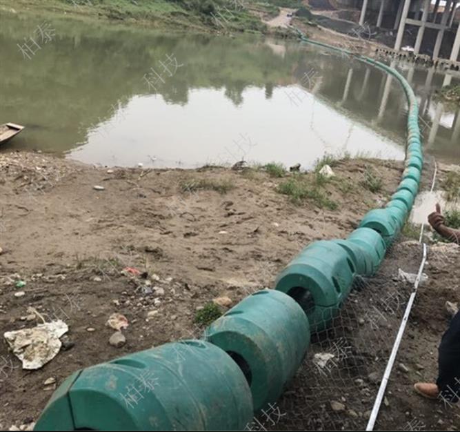 淄博水电站拦污浮排