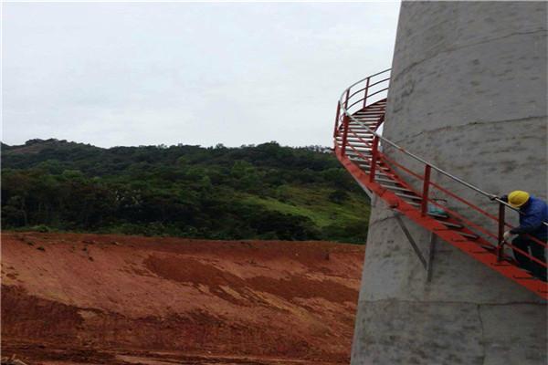 茂名专业承接烟囱爬梯安装公司