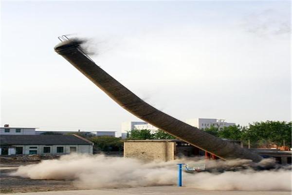 密云烟囱拆除公司