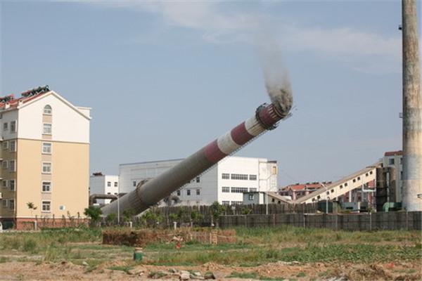 鹤壁烟囱拆除公司