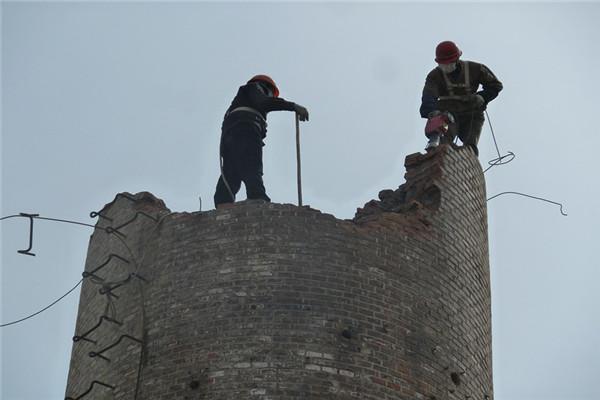 贵阳烟囱拆除公司
