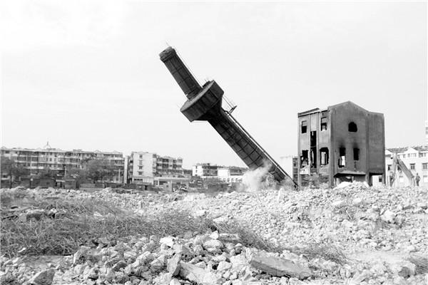 莆田烟囱拆除公司