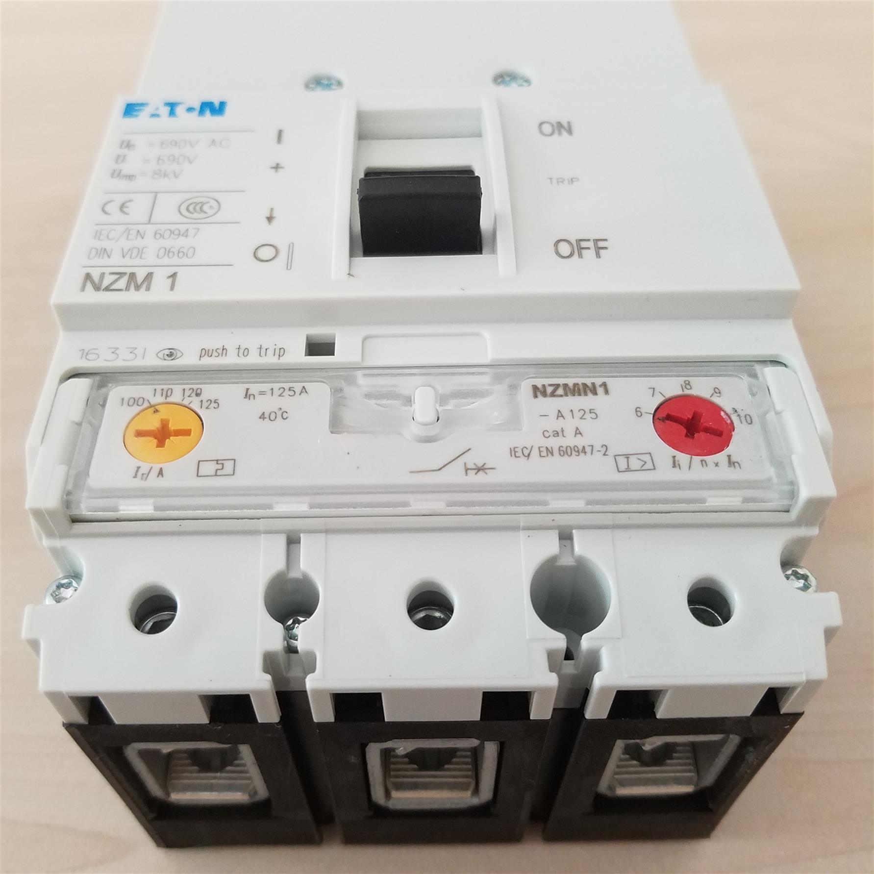 NZMN1-M80EATON 穆勒塑壳断路器供应商