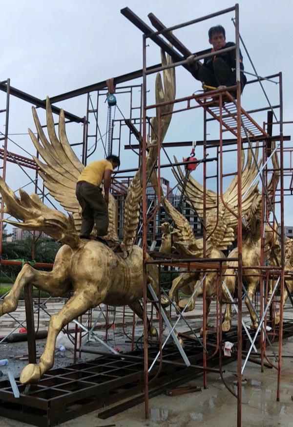清远铜雕公司