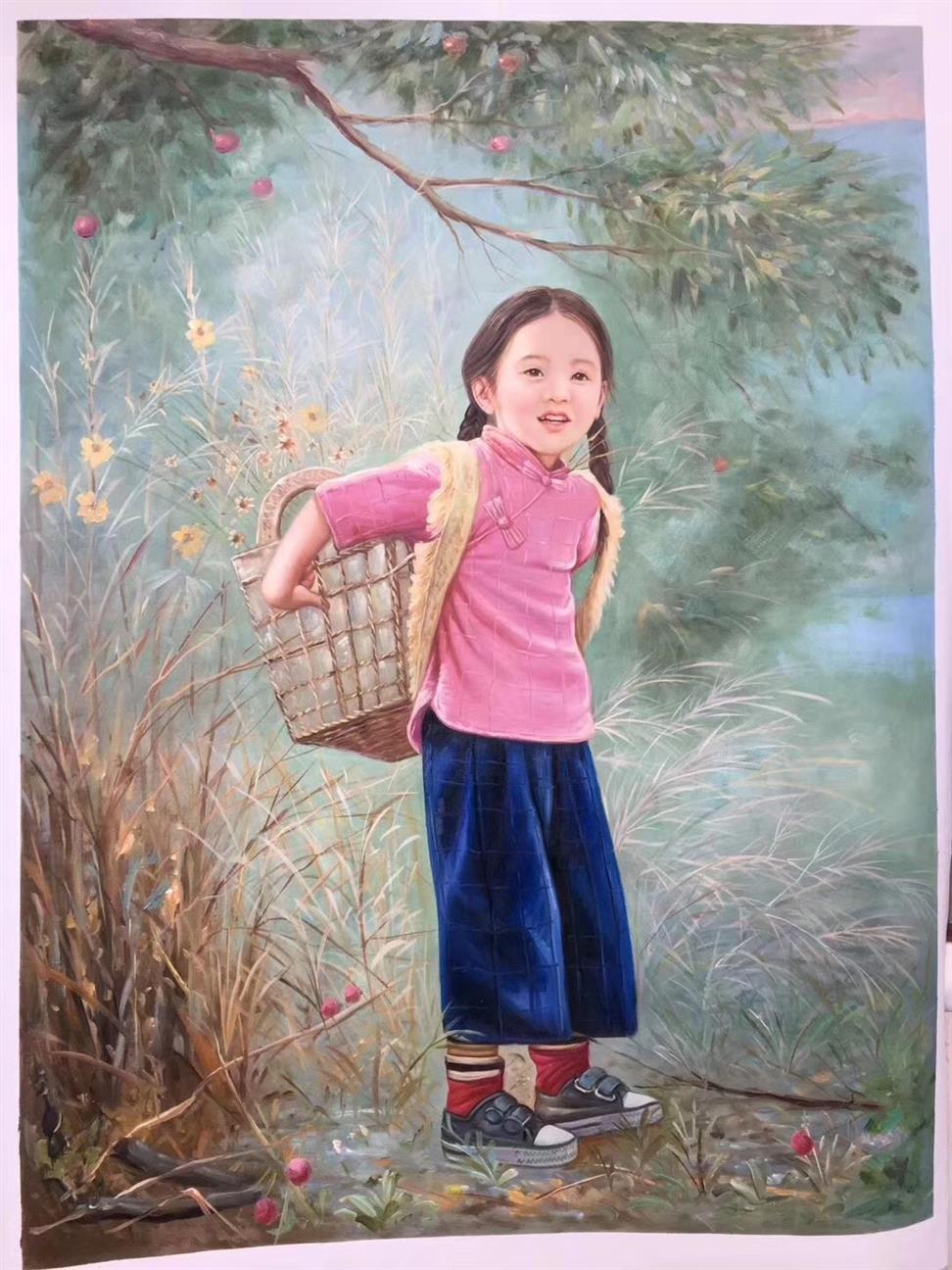 湘潭肖像油画公司