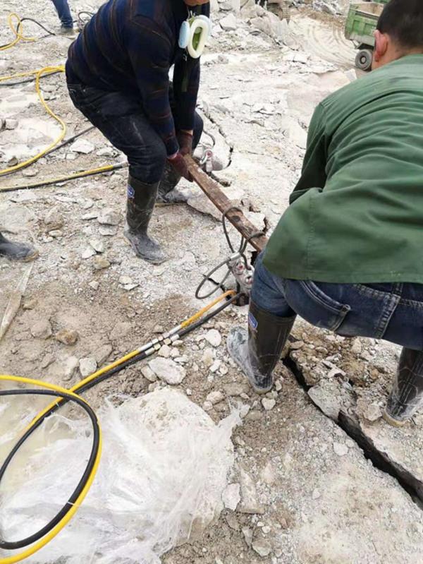 泉州礦山開石液壓開山機價格